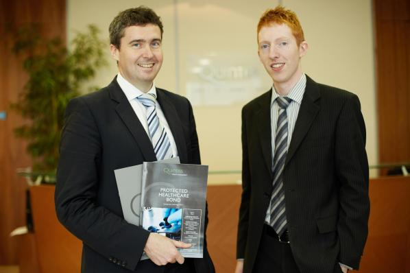 l-r David O'Shea, Investment Director & James McCarthy, Investment Analyst